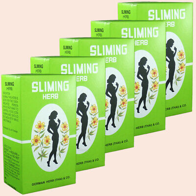 Weight Loss 250 Bags Slimming Diet Tea German Herb  -  Fatburner - Fast Slim