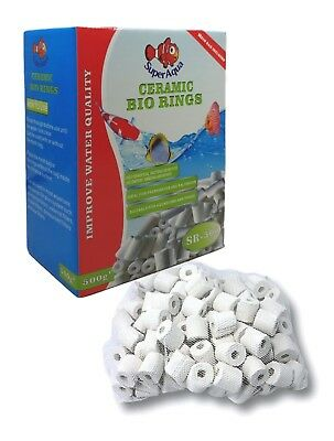 Ceramic Bio Rings Filter Premium Ceramic Rings Media For All Types Of Aquariums