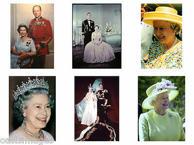 Queen Elizabeth II  Quality  Glossy Photo print A4 or A5size choice of 11 images