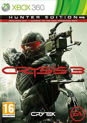 Crysis 3 ~ XBox 360 (in Good Condition)
