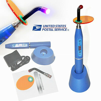 Dental Wireless Cordless LED Cure Curing Light Lamp 2000mw Tool for Dentist USA!