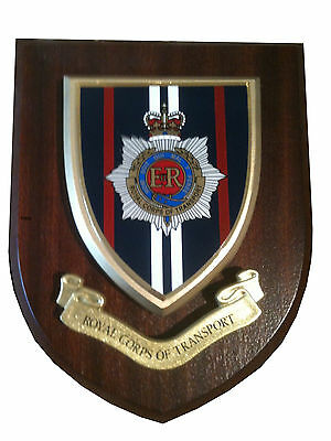 RCT Royal Corps of Transport Wall Plaque UK Made for MOD Military