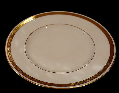 Minton Antique White And Gold #9816 Bread Plate