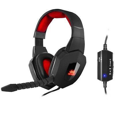 Sumvision Nemesis AKUMA 7.1 USB Surround Sound Wired Gaming Headset