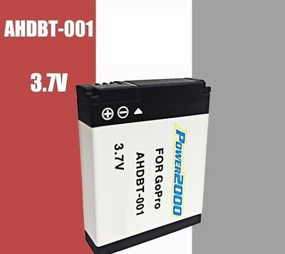 Replacement Battery AHDBT-001 for GOPRO HD Hero Hero2 Camera Helmet Surf Naked