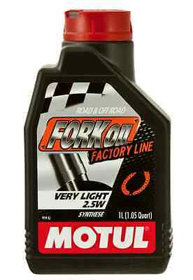 Motul Fork Oil Fork Oil Factory Line Very Light 2.5W 101133 GSR CBR GSXR R6 R1
