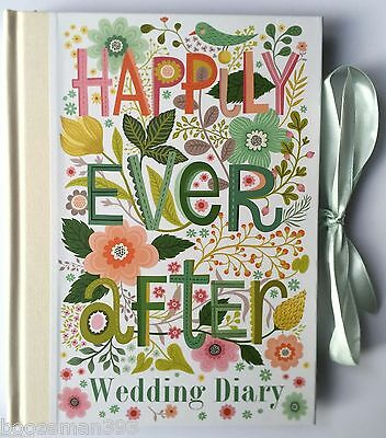 Happily Ever After Wedding Planner Book Diary / Journal Great Engagement Gift