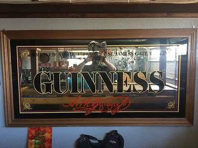 Large Guinness Mirror