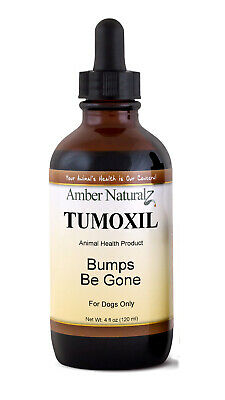 Amber Technology Organic Tumoxil Natural Fatty Tumor Remedy for Canines 4 oz.