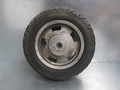 Chinese Huatian Retro Scooter Ht50Qt22 Rear Wheel With Tyre