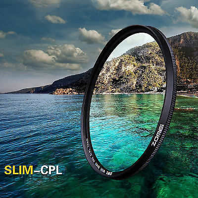 ZOMEI 72mm Slim CPL Circular Polarizing Polarizer filter Lens for Canon Camera