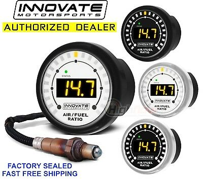INNOVATE 3844 MTX-L Wideband Gauge AFR w/ O2 UEGO Sensor Air Fuel Ratio NEW