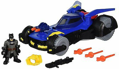 Batman Batmobile Imaginext Superfriends Dawn Gotham Justice V Superman Cannon XL
