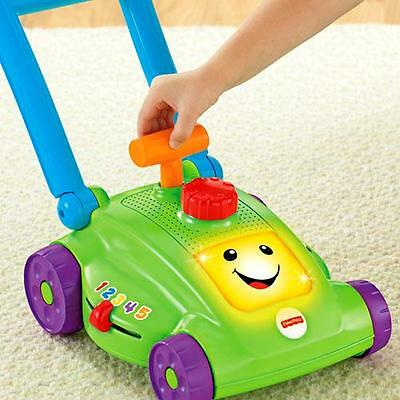 Fisher Price Lawn Mower Smart Stages Kids Mower With Pull Cord