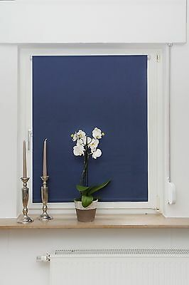 String Thermal Blackout Shutters Clamping Roller Blind