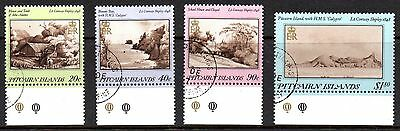 Pitcairn Islands 1987 Paintings SG 308 - 311 very fine used (CTO)