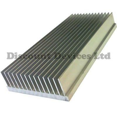 300x111x33mm Aluminium Heat Sink Power Amplifier/Supply/ Transistor/IC/FET/PA