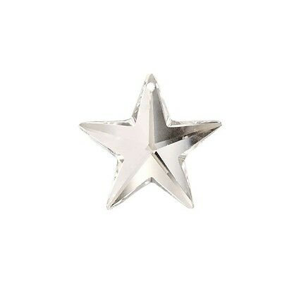 Swarovski Crystal Clear 28mm Star Prism Strass Pendant