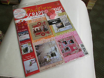 passion SCRAPBOOKING - 31 neuf ....
