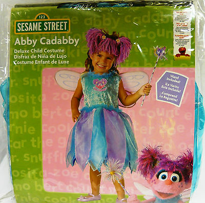 Costumes For All Occasions DG6915W Abby Cadabby Deluxe kids 4-6