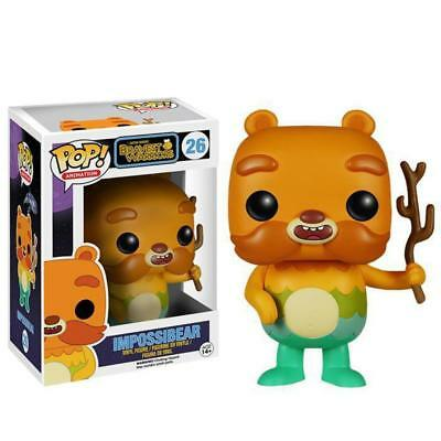 Bravest Warriors Impossibear Pop! Vinyl Figure 26 by Funko Cartoon Collectible