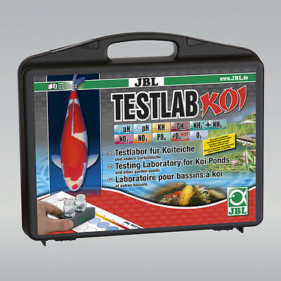 JBL TestLab Koi - Professional Water Test Kit for Koi Ponds