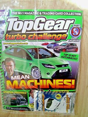 TopGear Turbo Challenge Mean Machines Magazine Part 9 Trading Cards Collection