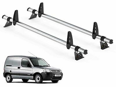 Fiat Scudo Roof Bars Rack Rhino DeltaBars Load Guard Stops 2 Pairs 1995-2007 Van