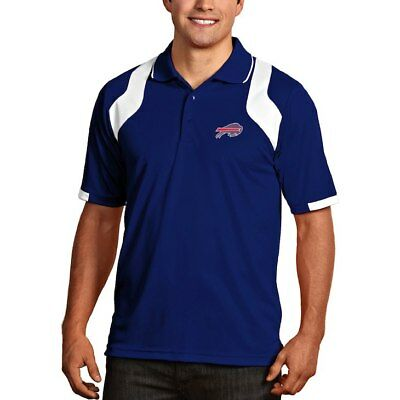07cbd27a3 Buffalo Bills Antigua Embroidered Xtra-Lite Royal Blue Fusion Polo Golf  Shirt