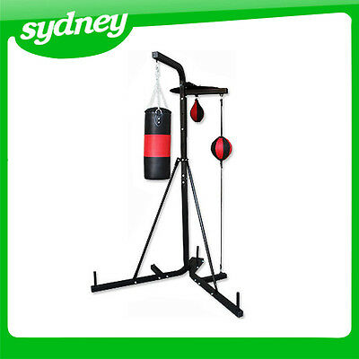 **NSW PICKUP*** Multi Station Boxing Stand with Punching Bag & speed ball