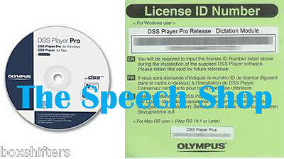 Olympus DSS Player Pro R5 Dictation Module/License for DS-5000, DS-4000