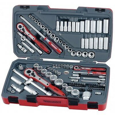 Teng Tools 111 PIECE TOOL KIT SOCKETS RATCHETS EXTENSIONS DRIVERS