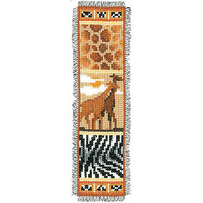 Africa-1  : Vervaco Counted Cross Stitch Kit : Bookmark -  PN0143908