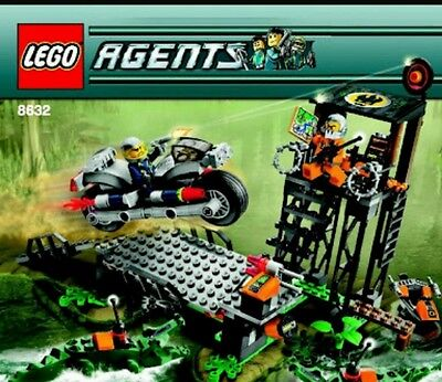 Lego agents 8632 instruction manual only