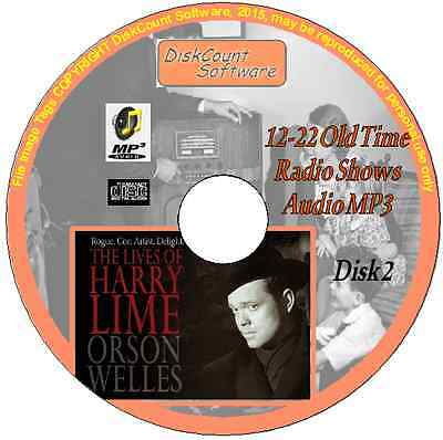 Orson Welles -The Lives of Harry Lime - 11 Old Time Radio Episodes MP3 CD2 Crime