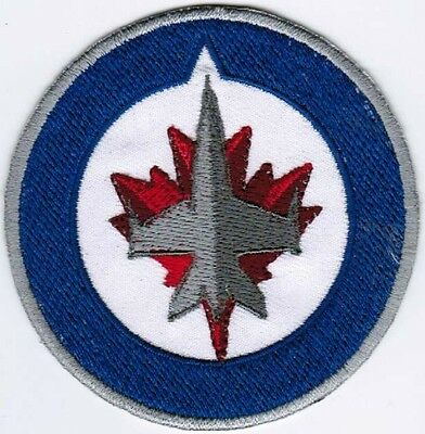 Winnipeg Jets Canada National Hockey League NHL Badge Embroidered Patch