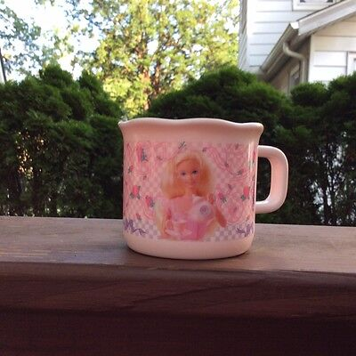 Barbie Melamine Cup. A Set Of Four. Brand New1