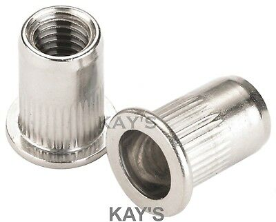 Rivnuts Blind Threaded Nutserts Rivet Nuts Stainless Steel M3 M4 M5 M6 M8 M10