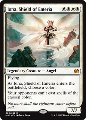 Iona Shield of Emeria New from MTG Modern Masters 2015 Booster