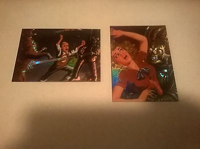 1994 Topps Mars Attacks Archives Complete Set of 4 Matrix Cards