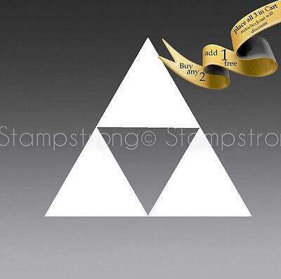 2 Inch LEGEND OF ZELDA TRIFORCE Vinyl Decal Sticker Die Cut TRI FORCE