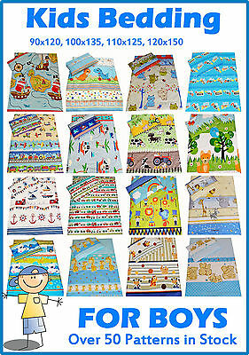 Boys Bedding Cot Bed Toddler Junior Bed  Duvet Cover Pillowcase Curtains