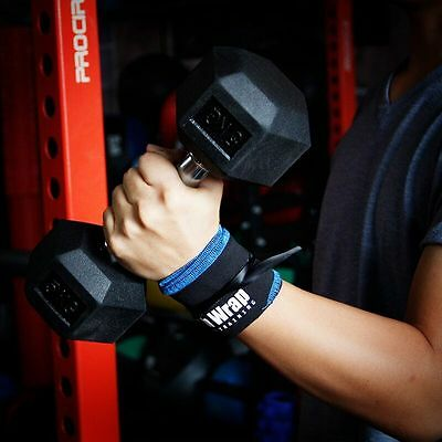 Hot Exercise Weight Lifting Wrist Support Band Straps Gym Body Building Training