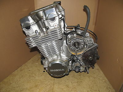 Sevenfifty Cb750 Rc42 E Motor Engine 32Tkm Versand Top Kompressinsbild