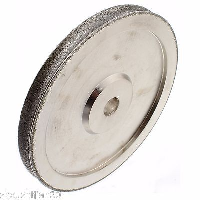 """6"""" inch Lapidary Dia. 12mm Grit 80 CONCAVE ARC Diamond Grinding Wheels Coated"""