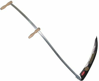 Grass Scythe Kit c/w 45cm bramble blade, 60cm alpine blade and sharpening stone