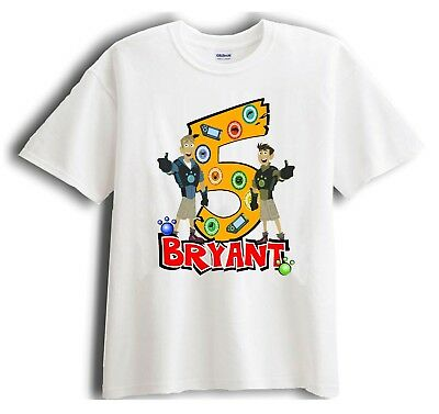 Wild Kratts - Personalized - Birthday T-Shirt Party Favor