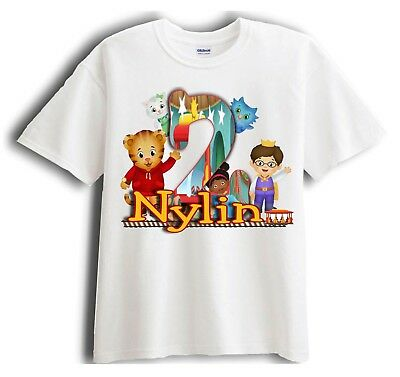 Daniel Tiger Personalized - Birthday T-Shirt Party Favor