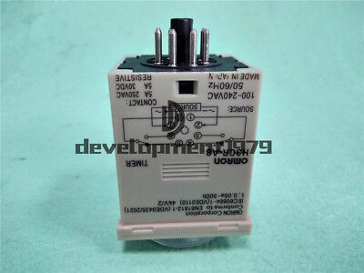 NEW OMRON Timer H3CR-A8 100-240VAC