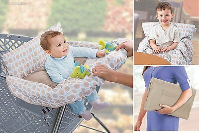 Summer Infant Baby Shopping Cart Cover Seat Positioner High Chair Travel Safe